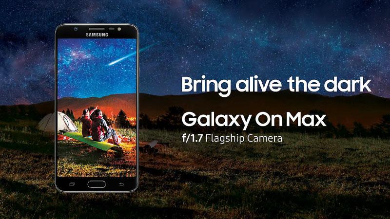 Buy Samsung Galaxy - Samsung On Max on Flipkart