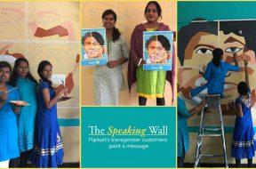 The Speaking Wall - Flipkart's transgender customers paint a message