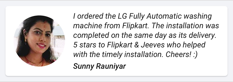 Flipkart Perfect Buy customer testimonial