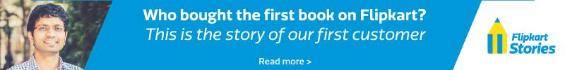 Who was Flipkart's first customer?