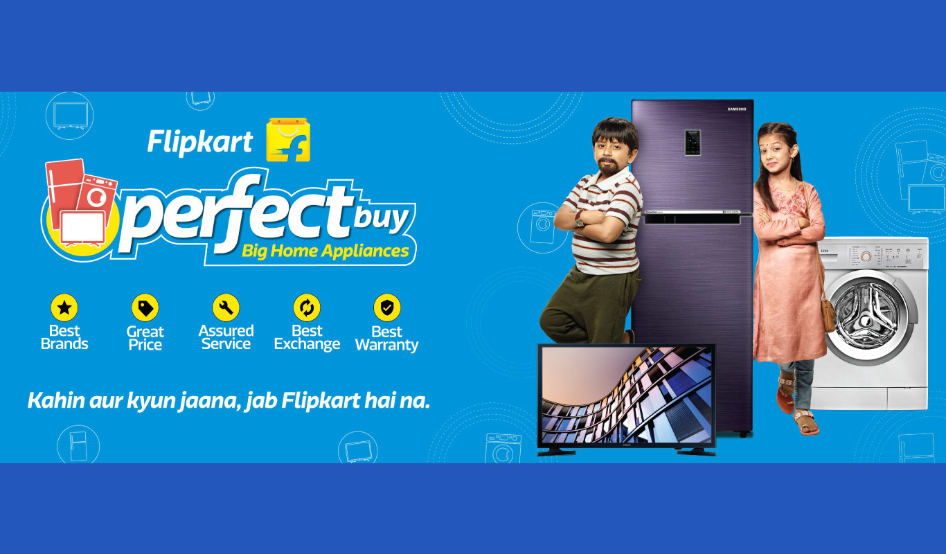 Flipkart Perfect Buy — finally, a one-stop experience for large appliance shopping